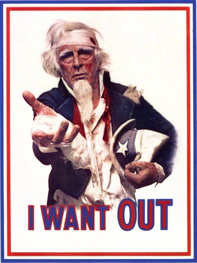 1970 Uncle Sam I want Out