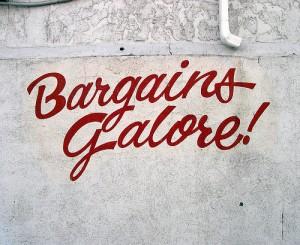bargain-spending