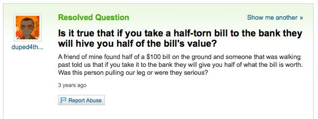 Bill Fail