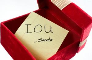 Christmas IOU