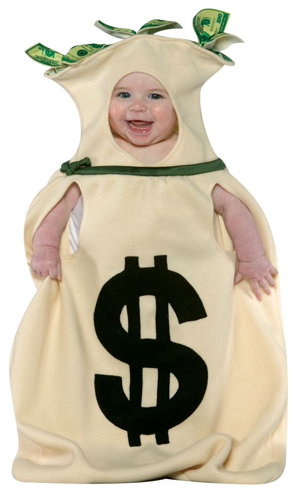 Money Bag Baby Costume