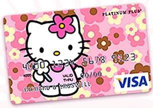 Hello Kitty credit card attacked