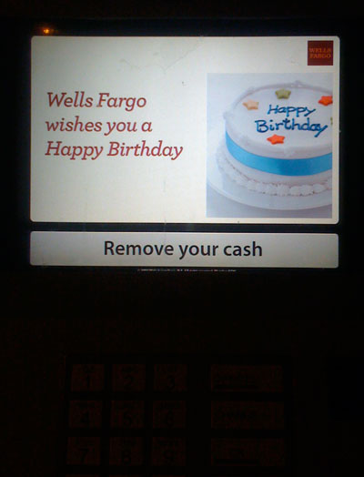 Wells Fargo Birthday Wishes