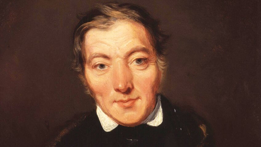 Robert Owen, by William Henry Brooke (died 1860), given to the National Portrait Gallery, London in 1893.
