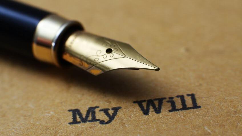 My will.