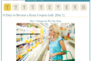 The Krazy Coupon Lady–Turning Average Shoppers Into Extreme Couponing Pros