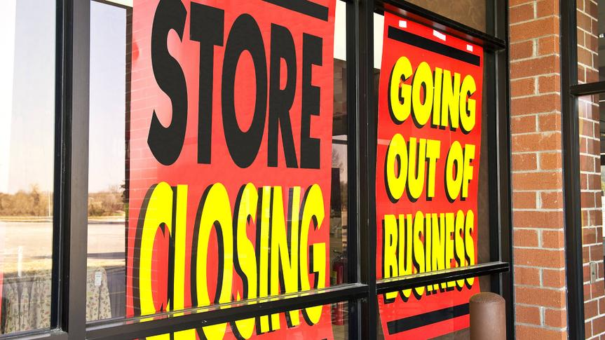Signs Of The Recession Going Out Of Business
