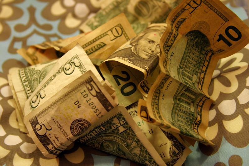 Cash Christmas Gift