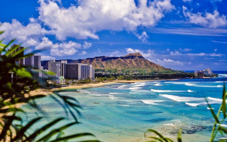 Hawaii beach nature volcano