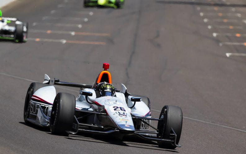 Indiana race car race track