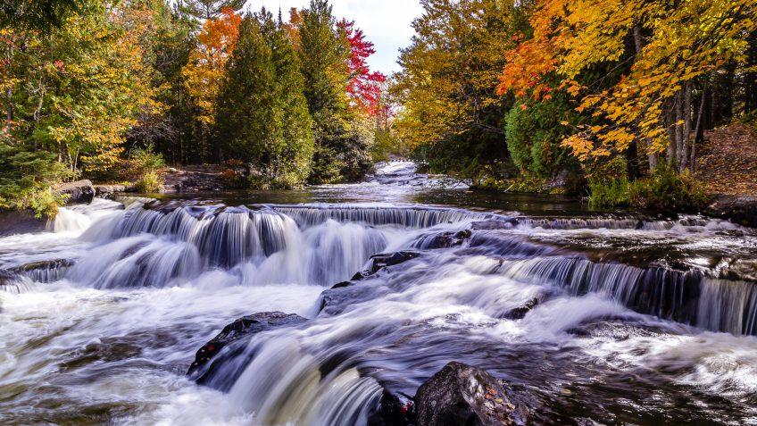 Michigan river water nature