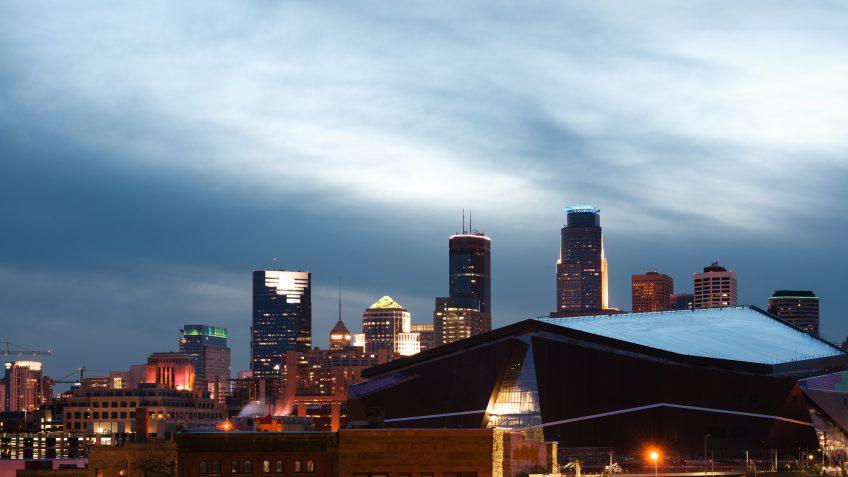 Minnesota building skyline