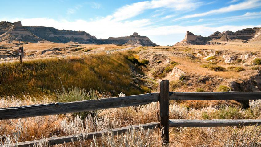 Nebraska fields landscape