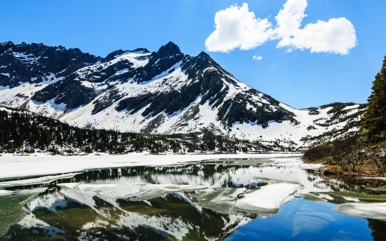 Alaska nature mountain