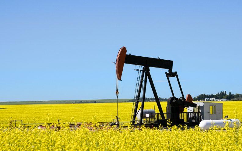 Oklahoma oil field