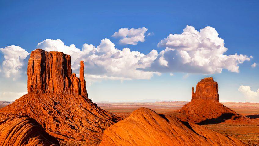 Utah landscape red rock