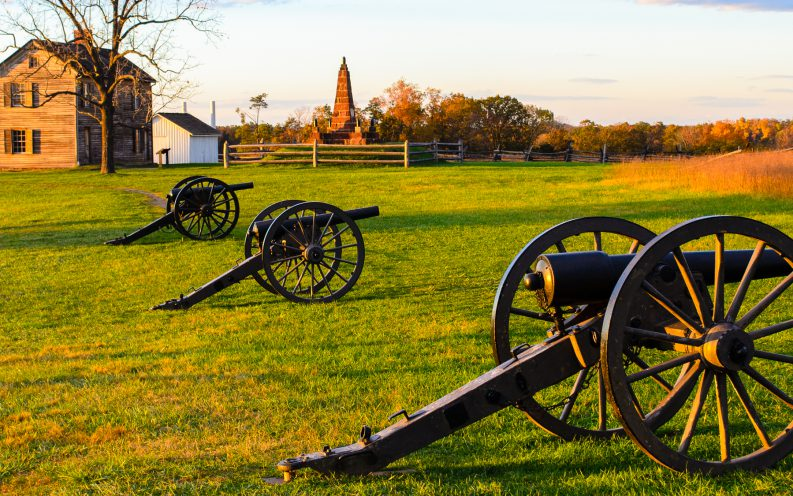 Virginia cannons field