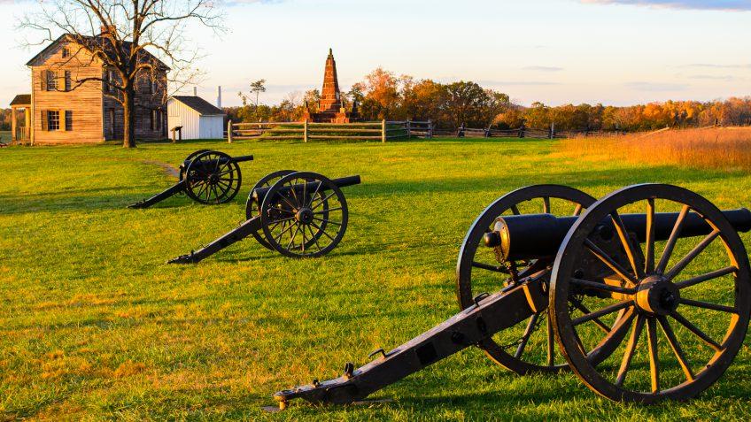 Virginia cannons field