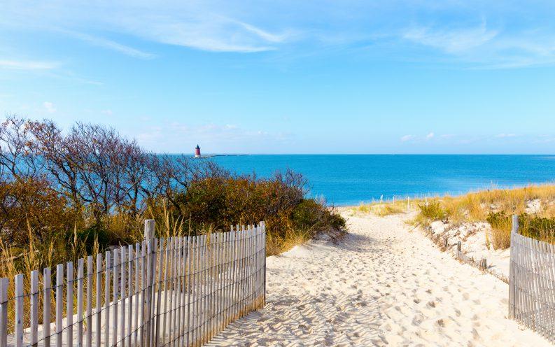 Delaware beach ocean sand