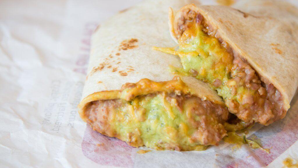 taco bell special burrito