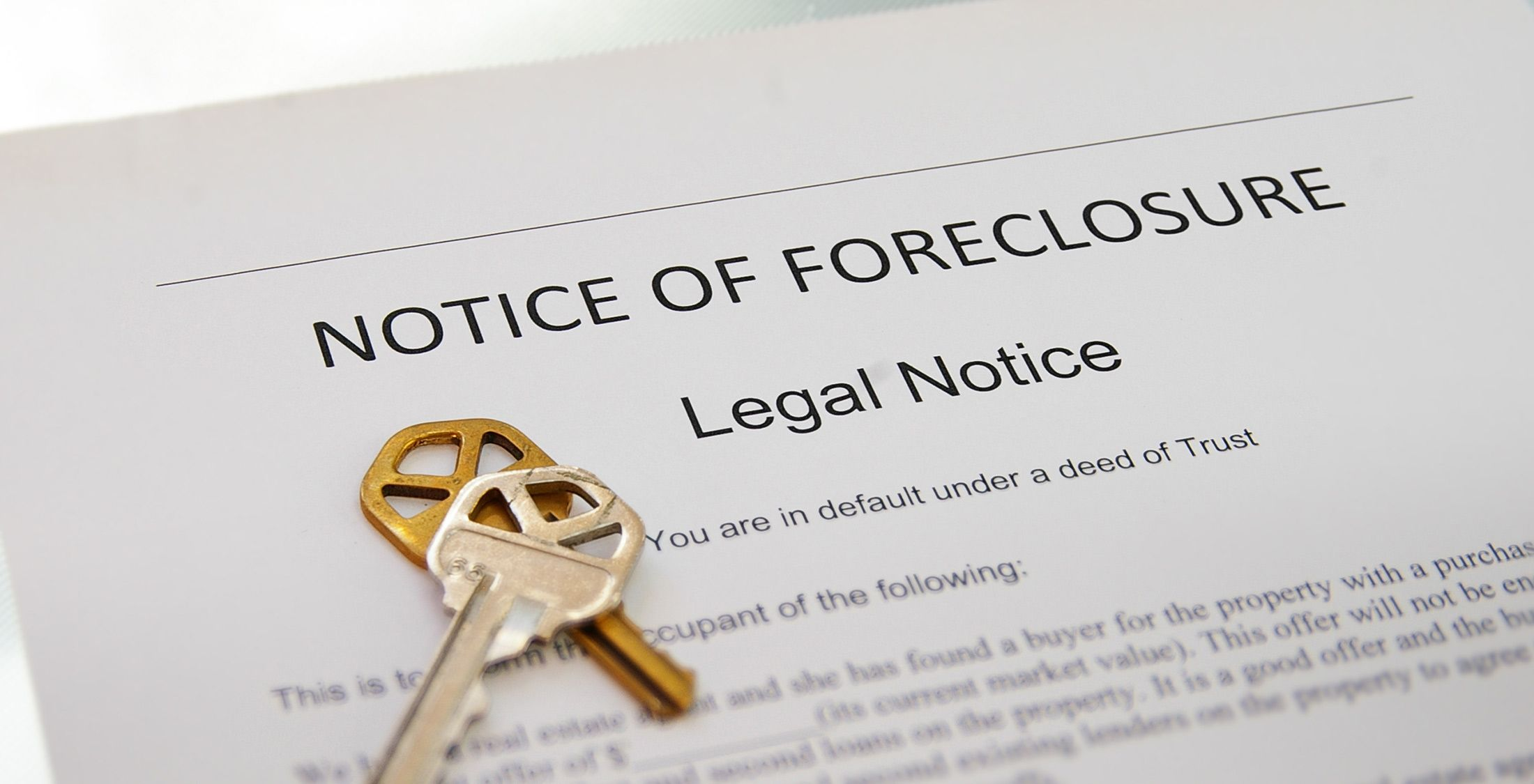 foreclosure mortgage payments