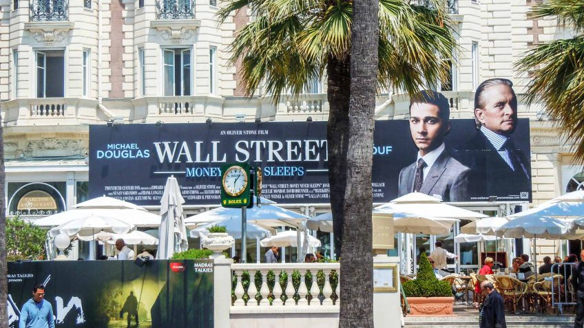 Wall Street, money never sleeps