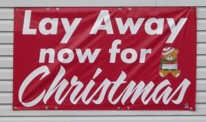 Christmas Lay Away