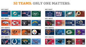 32 teams 33 cards NFL Extra Points Barclaycard