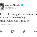 Johnny Manziel Tweet