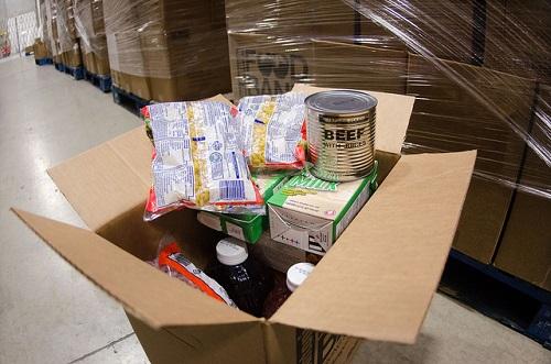 Air Force FCU Sponsors Food Drive in San Antonio