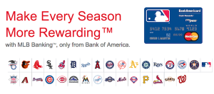 MLB BankAmericard Cash Rewards Card