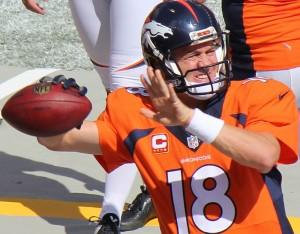 Peyton Manning breaks TD record