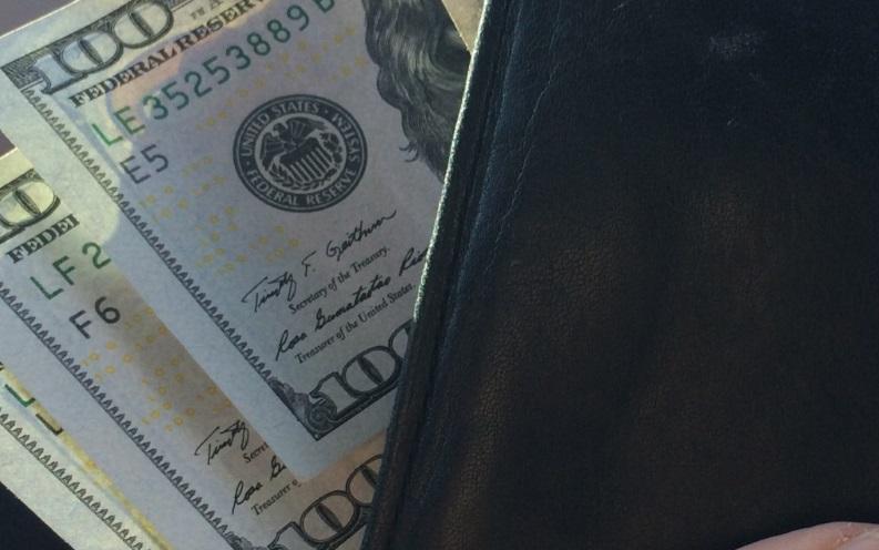 tony robbins wallet