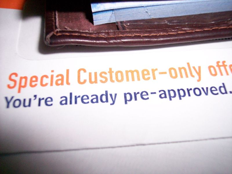 pre approved credit cards