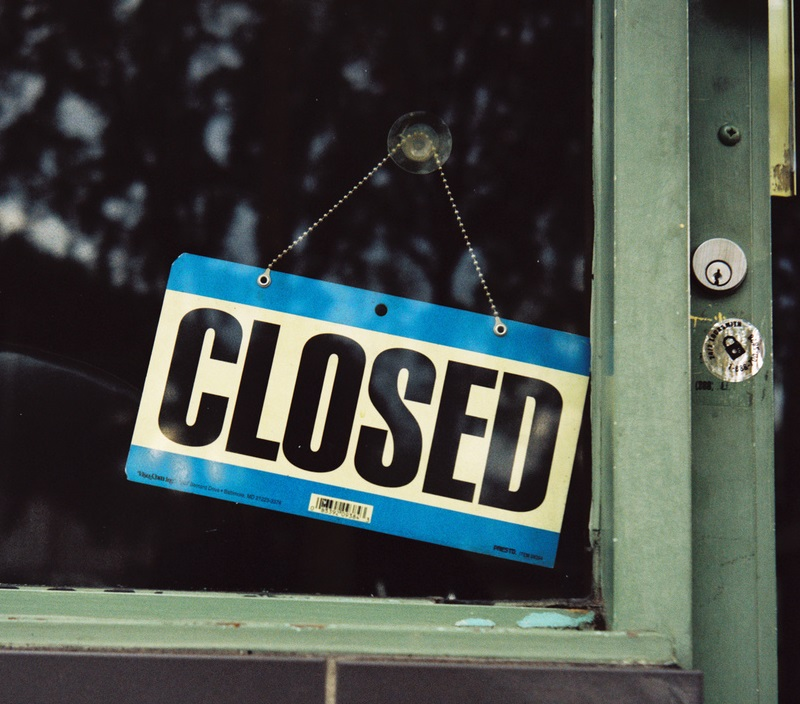 Image result for store closed