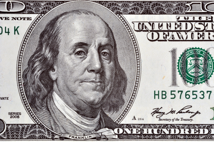 10 Fun Facts About the 100 Dollar Bill | GOBankingRates 100 Dollar Bill