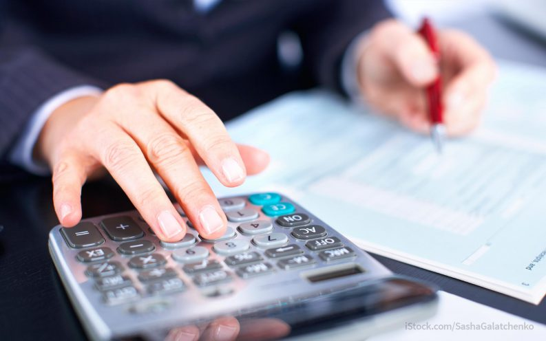 calculating income tax deduction