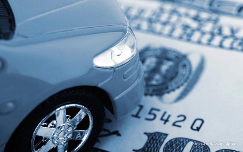 car registration fee deduction