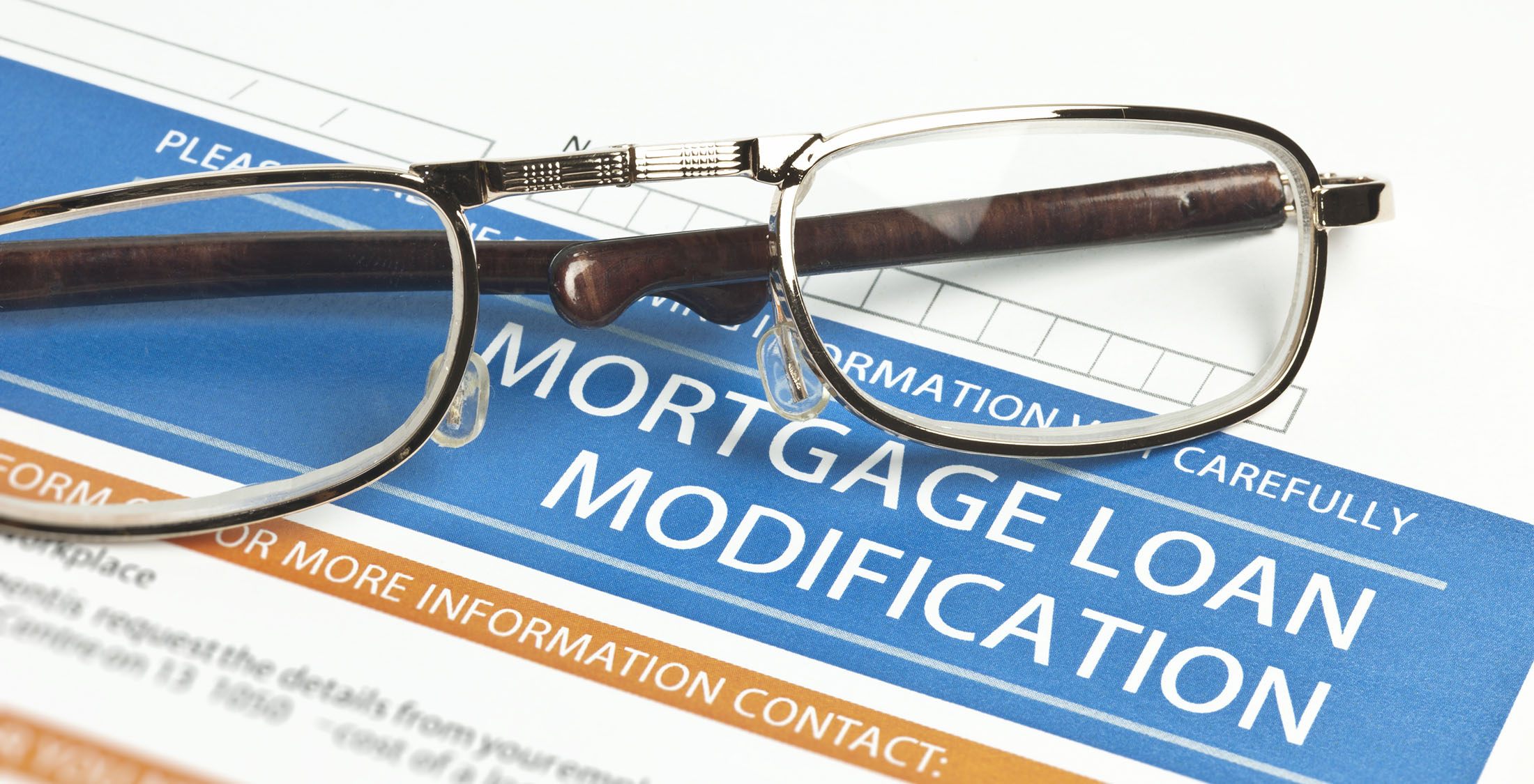 mortgage loan modification form