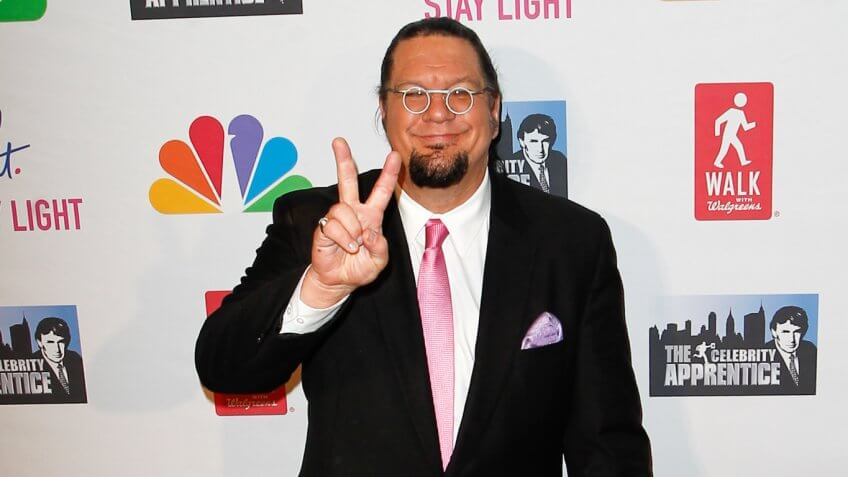 Penn Jillette Net Worth