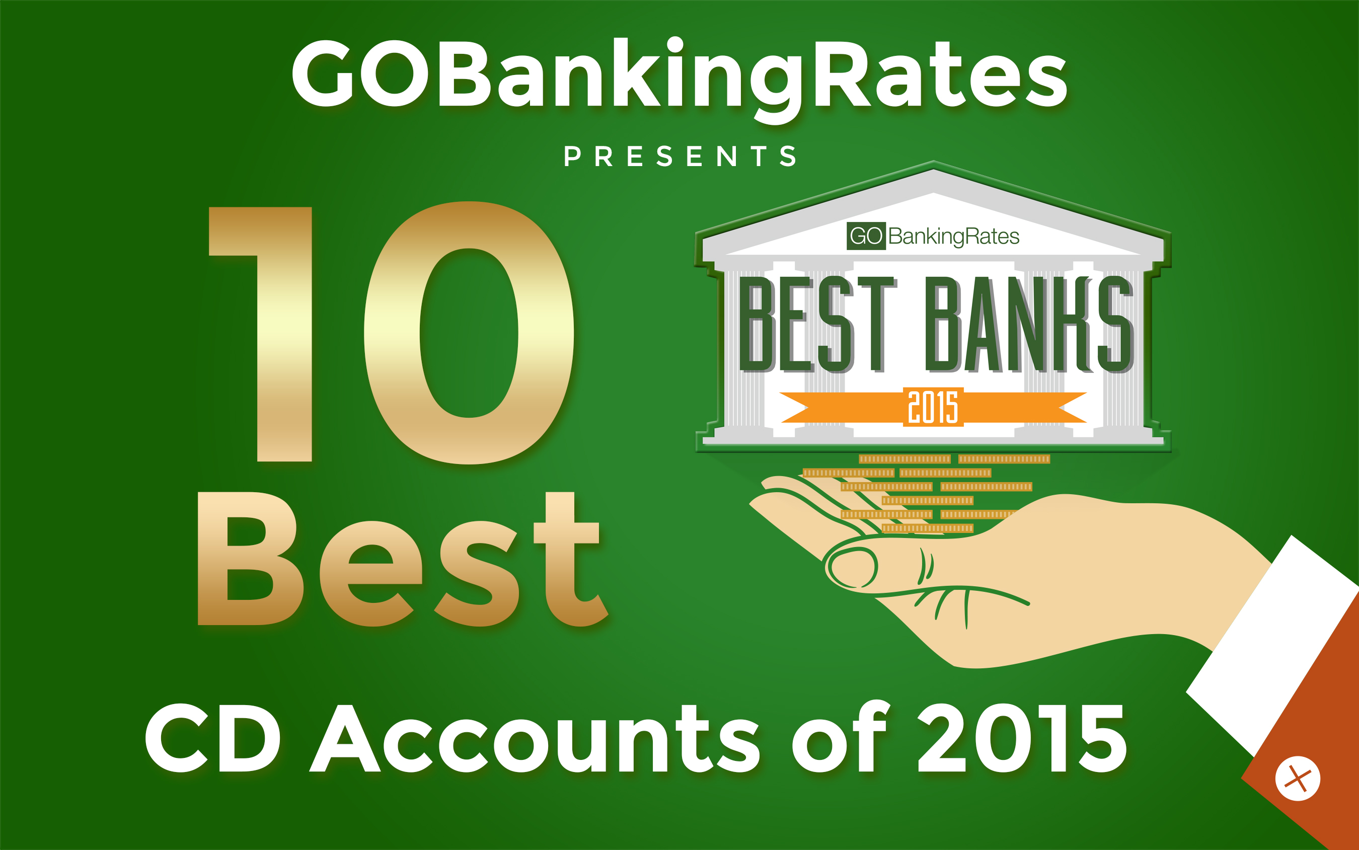 10 Best CD Accounts of 2015
