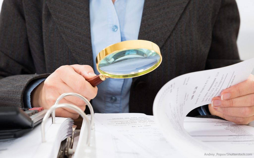 How do I keep good records in case of an audit?