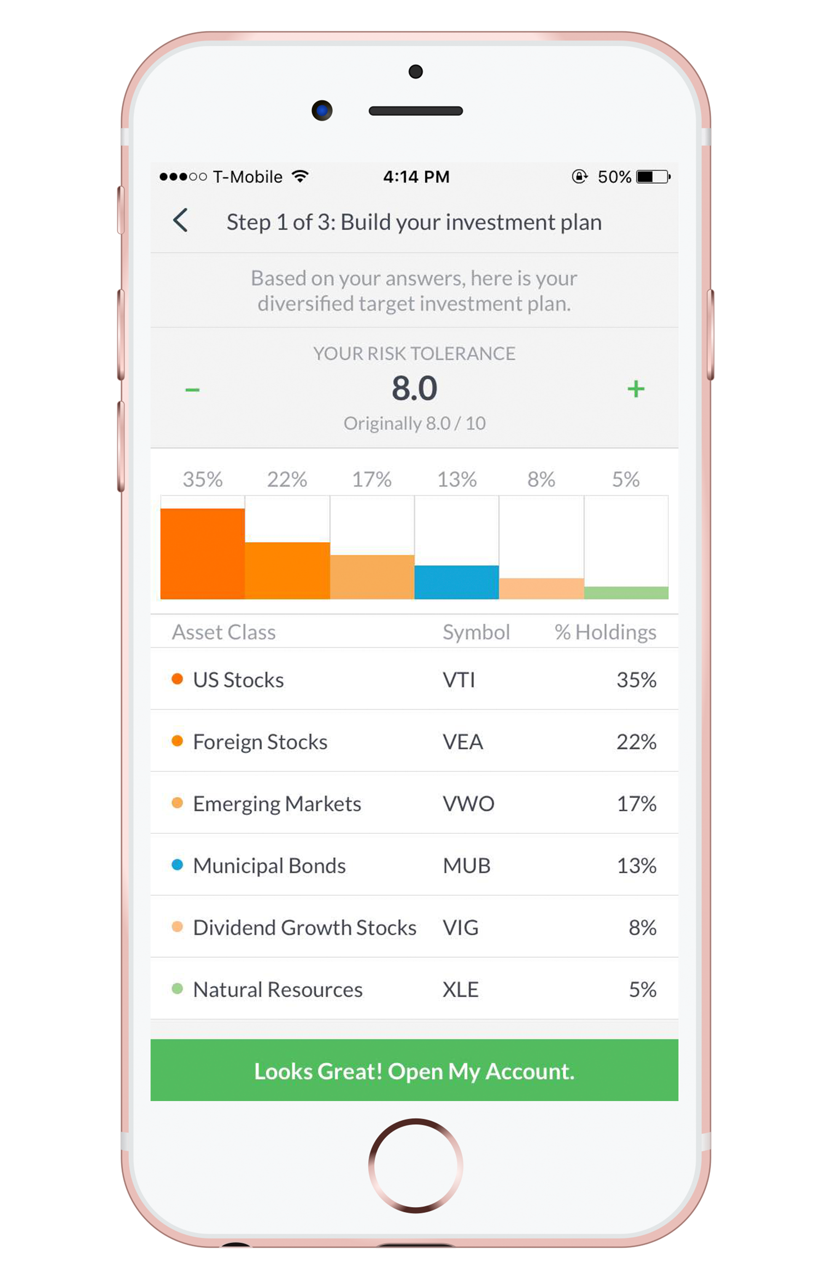 Wealthfront app