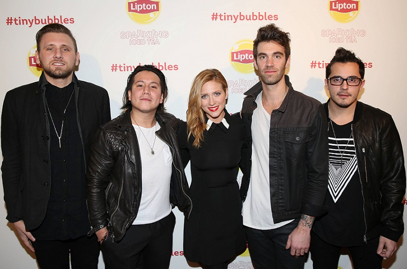 American Authors and Brittany Snow