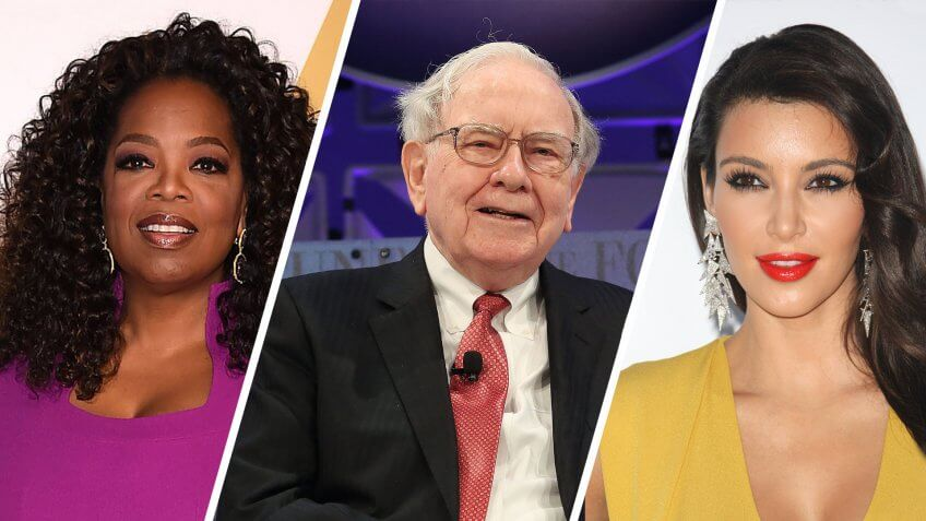 Which Credit Cards Do Oprah, Warren Buffett and Kim Kardashian Use?