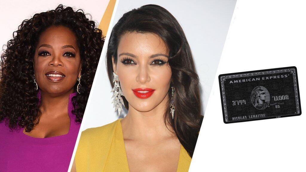kim kardashian oprah and black card