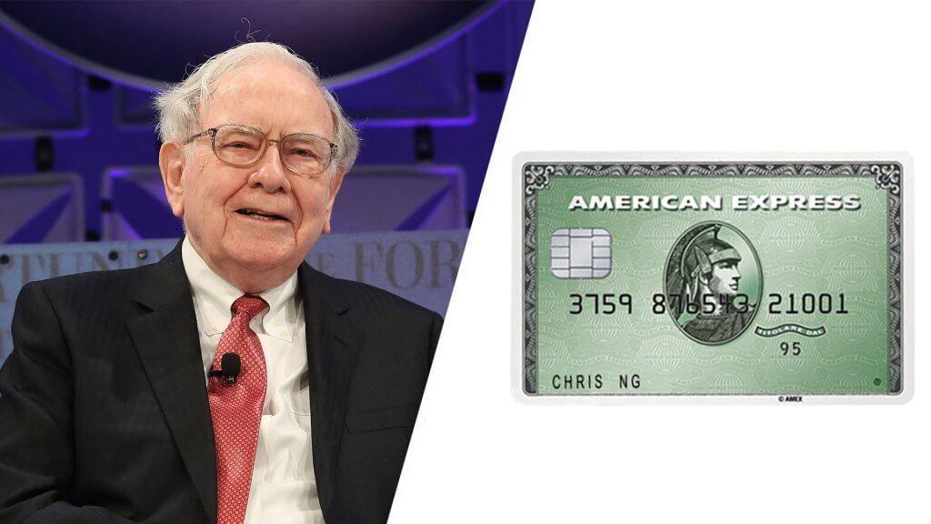 warren buffett american express card