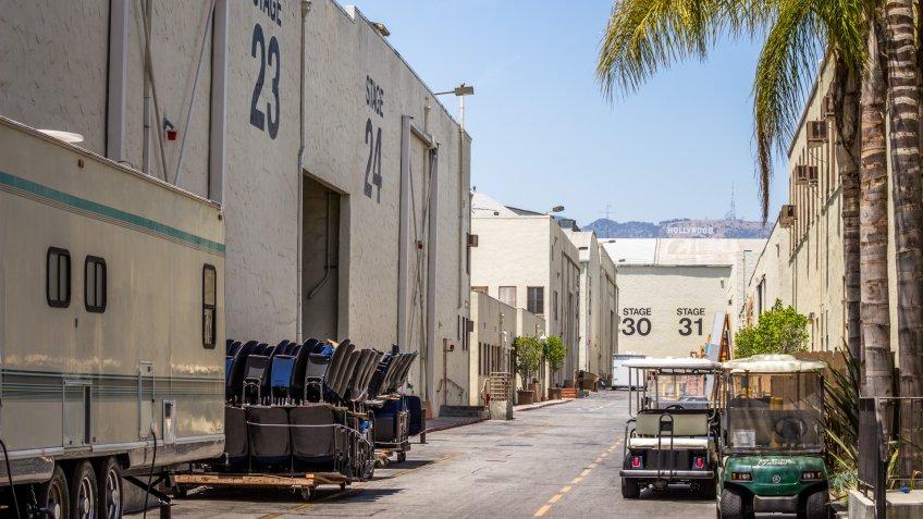 Hollywood, studio lot