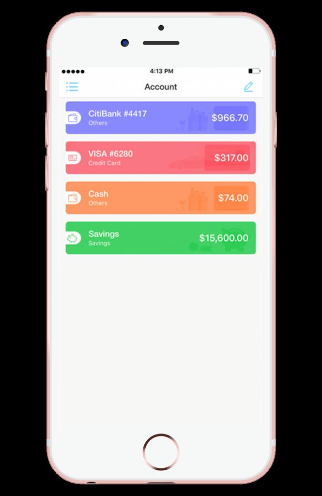 Pocket Expense app