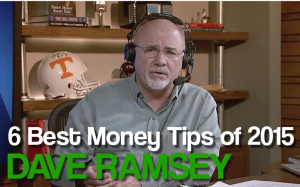 dave ramsey tips
